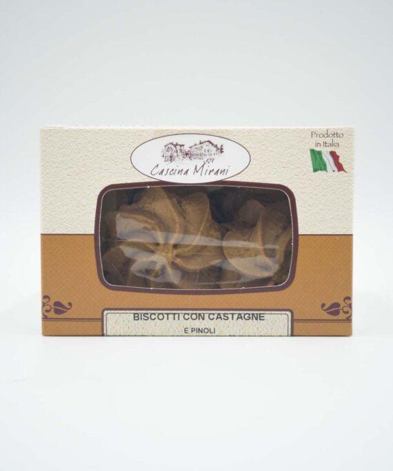 cascina mirani biscotti alle castagne